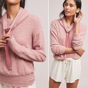 Anthropologie 'Saturday Sunday' Waffle Pullover XL